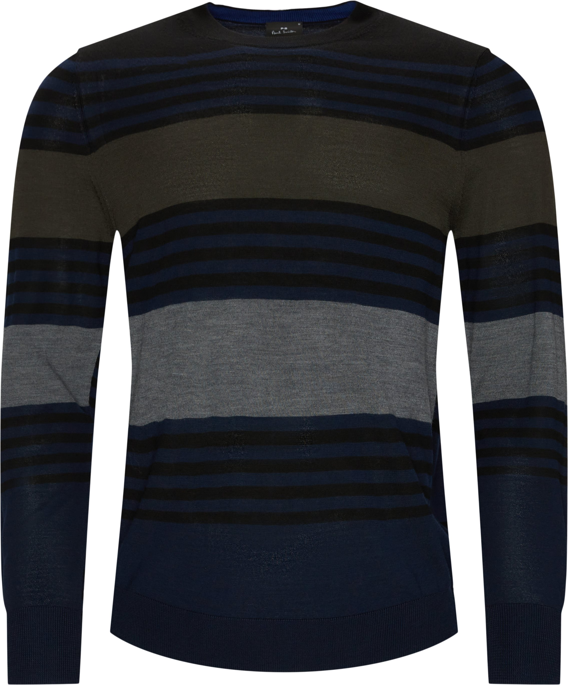 Merino Knit - Strik - Regular fit - Sort
